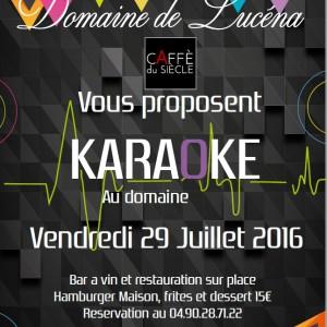 flyer soirée karaoké