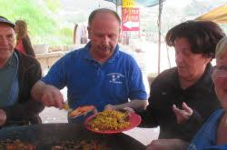 Samedi 1 er Mai : Paella la boule du Marot
